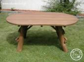 Stół owalny dł.160cm